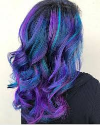 Fantasy hair color
